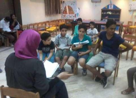 دورة تدريبية لتعليم التمثيل المسرحي بقصر ثقافة القناطر الخيرية