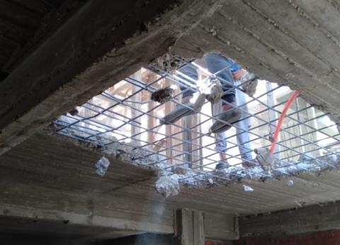 حي النزهة بالقاهرة: تحرير 28 محضرا ضد مخالفات البناء