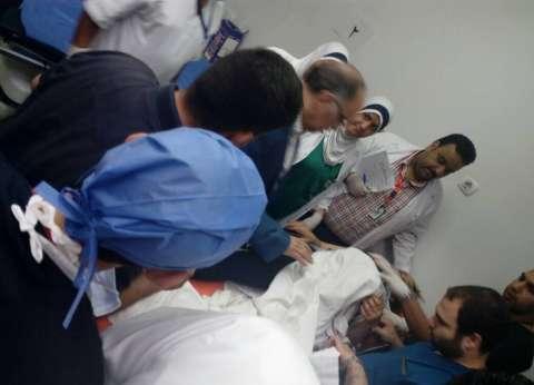 وصول 6 مصابين من حادث المنيا الإرهابي إلى معهد ناصر للعلاج