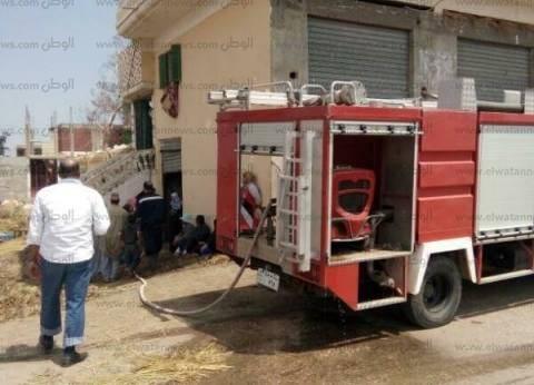 الحماية المدنية تسيطر على حريق شقة في العمرانية