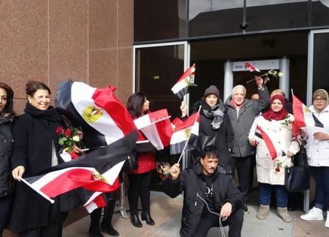 المصريون بسويسرا يصوتون في انتخابات الرئاسة لليوم الثاني