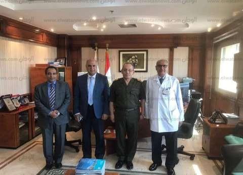 بالصور| تعاون مشترك بين جامعة كفر الشيخ والمركز الطبي العالمي