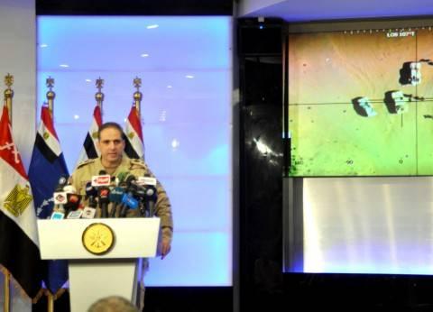 المتحدث العسكري: أهالي سيناء يقدمون للقوات الدعم المادي والمعلومات