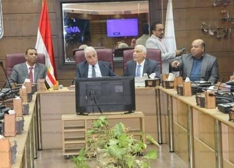 محافظ جنوب سيناء يطالب بتنفيذ 9 مشروعات بكل مدينة