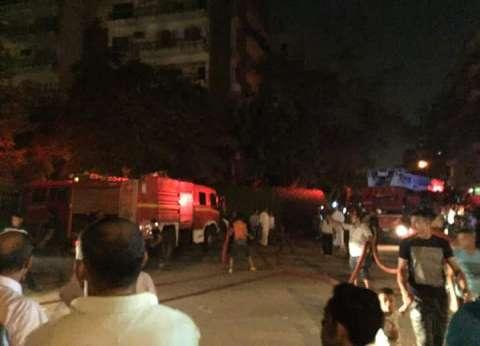 "إخماد حريق داخل محل ""لابوار"" بميدان الحصري"