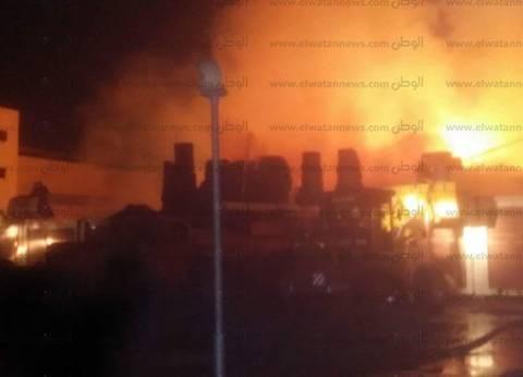 السيطرة على حريق نشب في مخزن بالموسكي دون إصابات