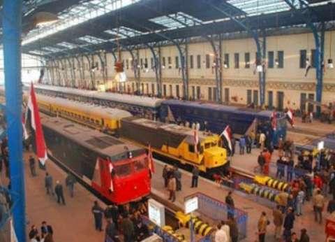السكة الحديد : انتظام حركة مسير القطارات على خط القاهرة اسوان