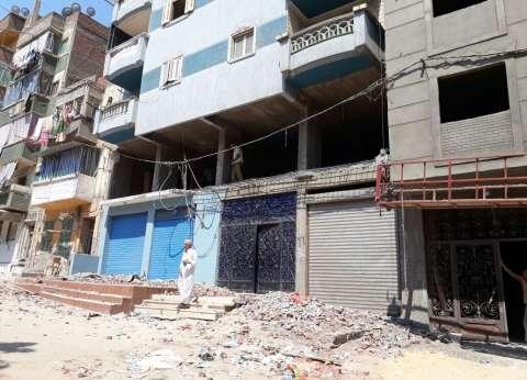 حملات لإيقاف أعمال البناء المخالف لثلاثة عقارات غرب الإسكندرية