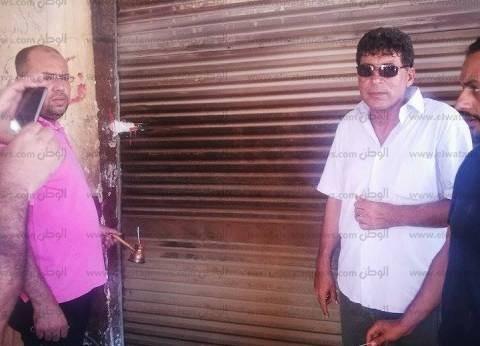 الأجهزة التنفيذية بالإسكندرية تغلق وتشمع كافيهات شرق المدينة