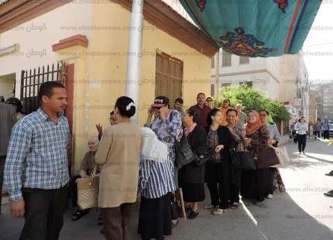 توافد الناخبين على اللجان بالحوامدية وسط إجراءات أمنية مشددة