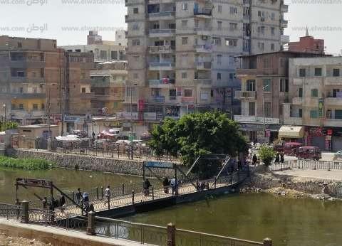 """إعادة فتح كوبري كفر الدوار """"العائم"""" أمام حركة المشاة"""