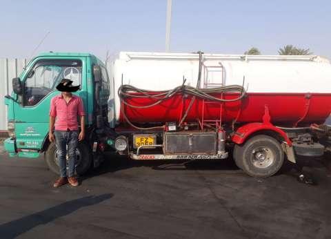 مصادرة 2400 لتر سولار مجهولة المصدر في حملة تموينية بشوارع الغربية