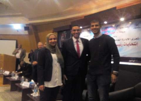 فوز مصطفى صقر بمنصب رئيس اتحاد جامعة حلوان