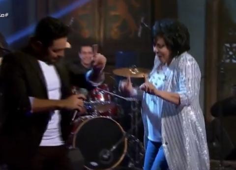"""تامر حسني يشعل استوديو """"صاحبة السعادة"""""""
