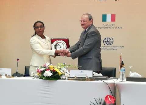 النائب العام يوقع مذكرة تفاهم مع نظيرته الموزمبيقية للتعاون القضائي