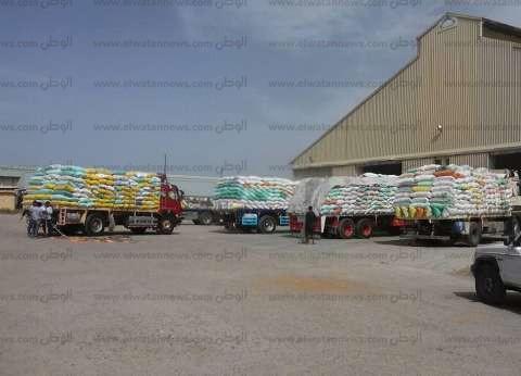 """""""تموين المنوفية"""": توريد 111 ألف طن قمح لصوامع وشون المحافظة"""