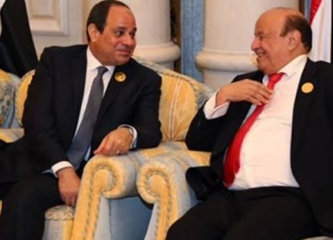 الثالثة لمصر والأولى رسميا.. خبير: الدور الإقليمي سبب زيارة رئيس اليمن