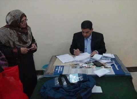 """تقدم أشرف عمارة على مرشح """"مستقبل وطن"""" بعد فرز لجنتين بالدائرة الأولى بالإسماعيلية"""