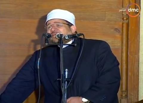 مدير معهد القادة يهدي درع أكاديمية الشرطة لوزير الأوقاف
