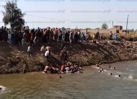 الإنقاذ النهري بالدقهلية يكشف جهوده للبحث عن غريق في بلقاس