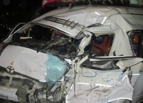 موجز منتصف الليل| إصابة 12 فتاة في حادث تصادم.. ونبيه الوحش يثير جدلا