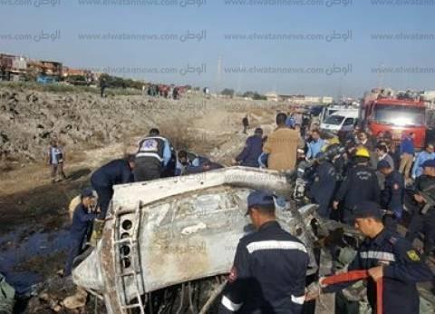 """أسماء مصابي حادث حريق """"أتوبيس الإسكندرية"""""""
