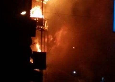 موظفة تشعل حريقا بمبنى التأمين الصحى بمطروح بسسب نقل زوجها تعسفيا
