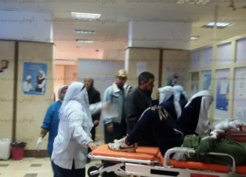 """ارتفاع عدد ضحايا حادث طريق """"سيوة- مطروح"""" لحالتي وفاة و10 مصابين"""