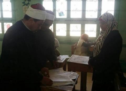 """رئيس قطاع المعاهد يتفقد امتحانات الثانوية بمعهد """"القاهرة بنين"""""""