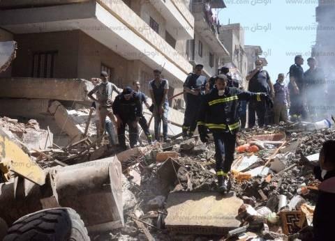 مصرع سيدة وابنتها في انهيار منزل بسوهاج
