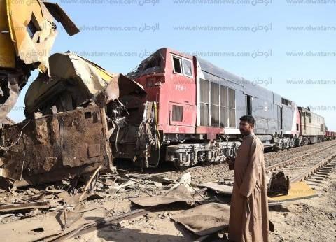 """وزير النقل: حادث قطار البحيرة """"نادر"""".. ومن المحتمل وقوع عطل أو إهمال"""