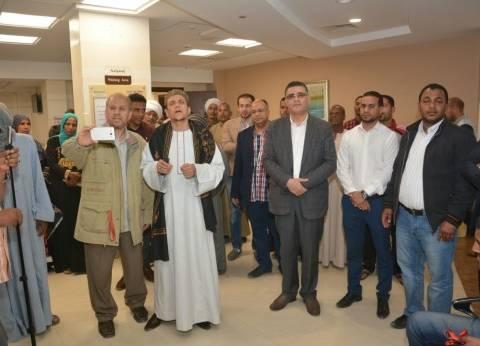 ابتهلات دينية ومدائح نبوية للمرضى في مستشفى شفاء الأورمان