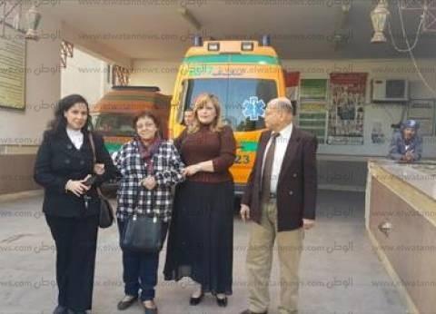 وفد النقابة العامة للأطباء يقنع طبيبة أسيوط بإنهاء إضرابها عن الطعام