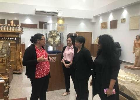بالصور| وفد ماليزي في زيارة لجامعة مصر للعلوم لبحث تبادل الخبرات العلمية