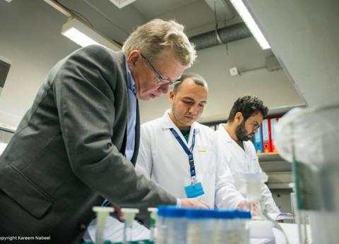بالصور| فريق تفتيش دولي يزور المعمل المركزي لتحليل متبقيات المبيدات