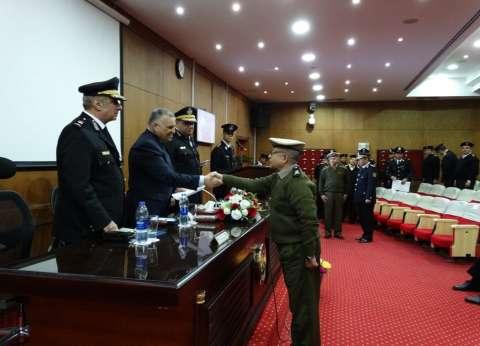 رئيس أكاديمية الشرطة يشهد ختام الدورة الثانية للضباط المتدربين