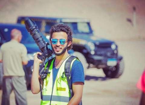 محمد رأفت: التعليم الفنى ساعدنى على الالتحاق بـ«هندسة إلكترونيات» وحققت حلمى بالعمل كمصور رياضى