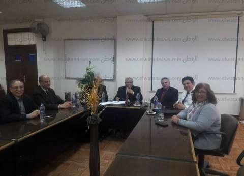 غلاب يستقبل اللجنة الدائمة للترقيات التابعة للمجلس الأعلى للجامعات