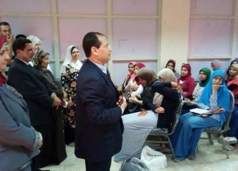 رئيس جامعة بورسعيد يفتتح ورشة الإسعافات الأولية الأساسية