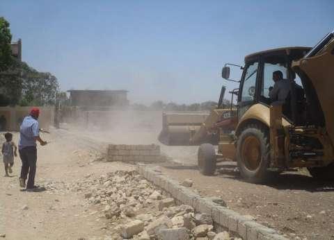 إزالة 30 حالة تعدي على أملاك الدولة بمركز إسنا في الأقصر