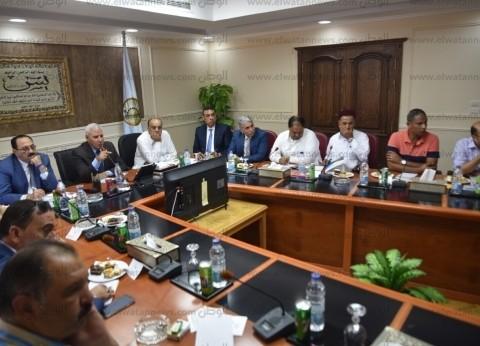 محافظ مطروح يستقبل لجنة النقل والمواصلات بمجلس النواب