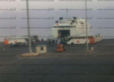لليوم الثاني.. غلق ميناء نويبع لسوء الأحوال الجوية
