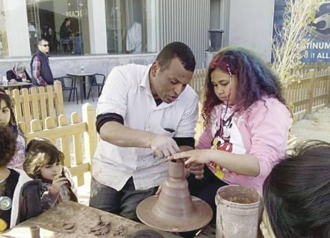 ورشة لتعليم الأطفال فن الفخار: لعبتك من الطين