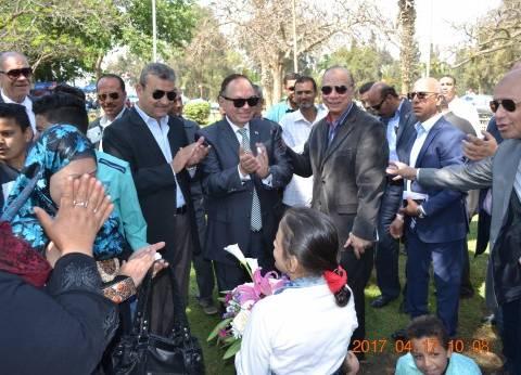 بالصور| جولة محافظ القاهرة للاطمئنان على استعدادات شم النسيم