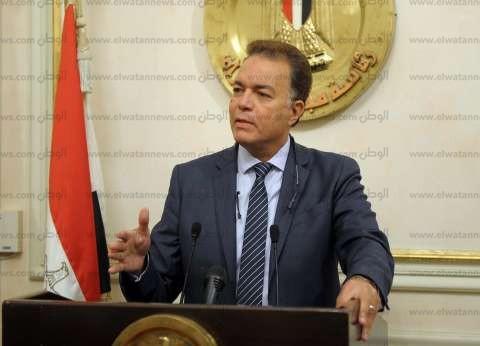 """وزير النقل وأعضاء بالبرلمان يتفقدون أعمال تطوير طريق """"شبرا - بنها"""""""