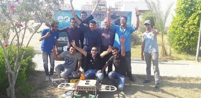 """طلاب جامعة بنها يحصدون المركز الأول في مسابقة """"الروبوت"""" بماليزيا"""