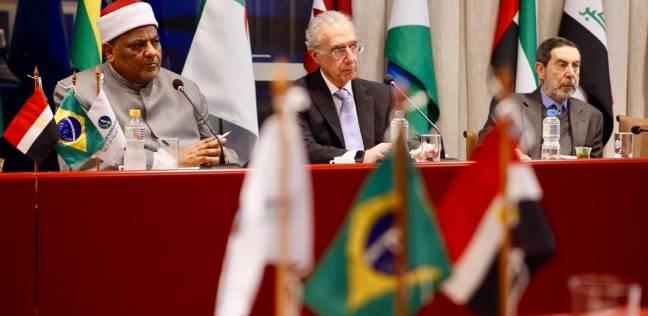 وكيل الأزهر يلتقي أعضاء الغرفة التجارية العربية البرازيلية