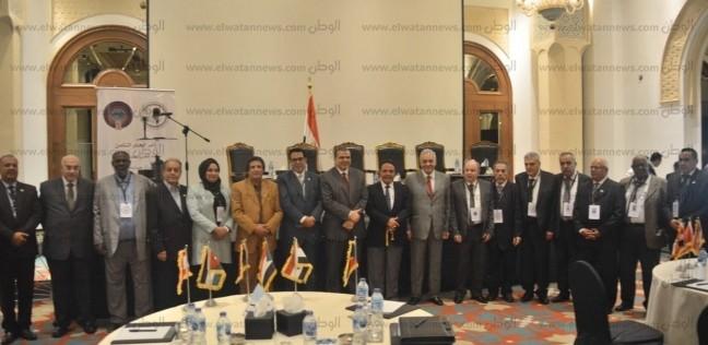 بالصور| بدء مؤتمر الاتحاد العربي لعمال الغزل والنسيج بمشاركة 12 دولة