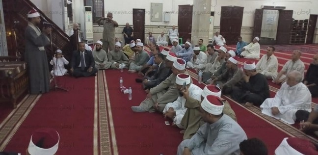 """""""أوقاف شمال سيناء"""" تحتفل برأس السنة الهجرة في مسجد النصر بالعريش"""