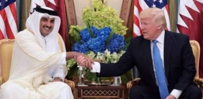 «تميم»: اتفقت مع «ترامب» على إنهاء الأزمة الخليجية و«قرقاش»: الحل بالرياض